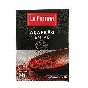 Açafrão Em Pó 0,4g La Pastina