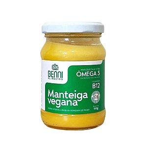 Manteiga Vegana com Ômega 3 e Vitamina B12 150g Benni