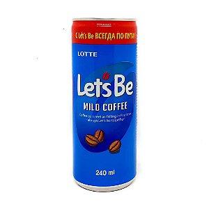 Bebida de Café Mild Coffee 240ml Let's Be Lotte