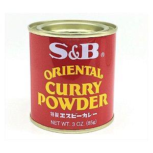 Curry em Pó Spicy Curry Powder 85g S&B