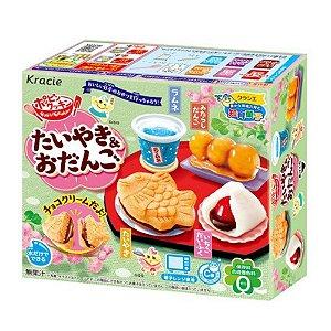 Doce Instantâneo Japonês - Taiyaki e Odango - Kracie Popin Cookin