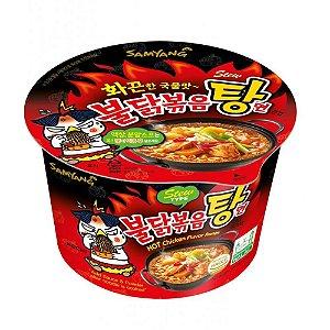 Macarrão Instantâneo em Copo Hot Chicken Flavor Ramen Stew Type Samyang