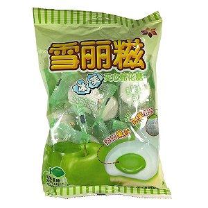 Marshmallow Recheado Sabor Maçã Verde