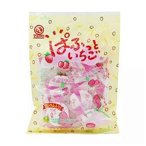 Marshmallow Recheado Sabor Morango Tenkei