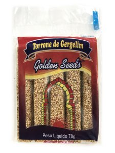 Torrone de Gergelim 70g Golden Seeds