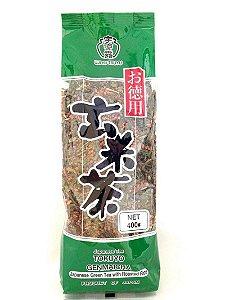 Chá Tokuyo Genmaicha 400g Ujinotsuyu