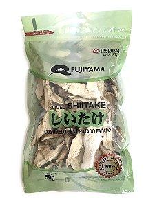 Cogumelo Desidratado Shiitake Fatiado 50g Fujiyama