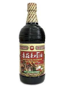 Molho de Ostra Vegetariano 1 Litro Wan Ja Shan