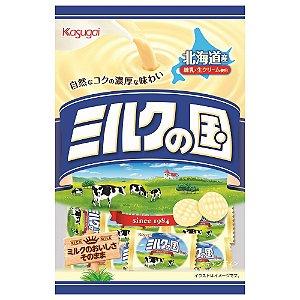 Bala Japonesa de Leite 120g Kasugai Milk no Kuni