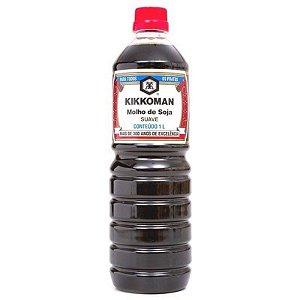 Molho de Soja Shoyu Suave Kikkoman - Frasco 1 litro