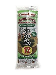 Sopa Instantânea de Missoshiro com Wakame Marukome