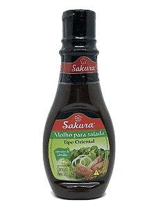 Molho para Salada Tipo Oriental 180ml Sakura