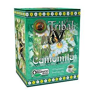 Chá Camomila, Melissa e Menta - 15 sachês - Tribal Brasil