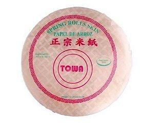 Papel de Arroz Redondo Towa Spring Rolls Skin