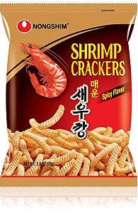Salgadinho de Camarão Apimentado Shrimp Hot & Spicy 75g Nongshim