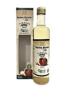 Vinagre de Fruta Maçã Orgânico Senhor Viccino - Frasco 500ml