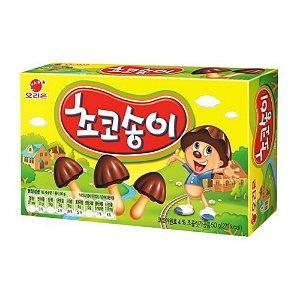 Biscoito com Chocolate Formato de Cogumelo Zangle Orion