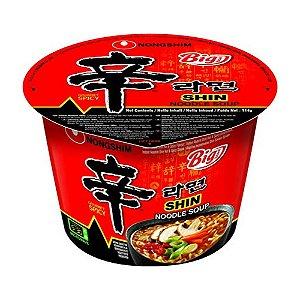 Macarrão Instantâneo em Copo Sabor Shin Big Bowl Noodle Nongshim