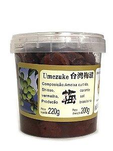 Ameixa Japonesa Umezuke 200g Sun Chien Yuan de Botucatu