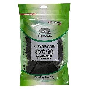 Algas Marinhas Desidratadas Cut Wakame 50g Fujiyama