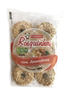 Rosquinhas de Amendoim Pacote com 150g Satsumaya