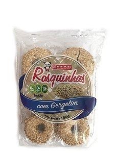Rosquinhas de Gergelim Pacote com 150g Satsumaya