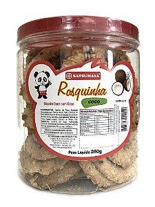Rosquinhas de CocoPote com 250g Satsumaya