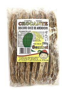 Biscoito Sembei Doce Amendoim 290g Crocante