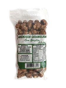 Amendoim Caramelado com Gergelim 100g O Verdadeiro