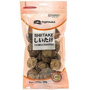 Cogumelo Seco Shiitake Inteiro 100g Fujiyama
