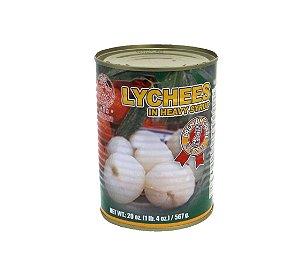 Lichia em Calda sem Semente 567g Sinbo Brand - Caixa com 24 latas