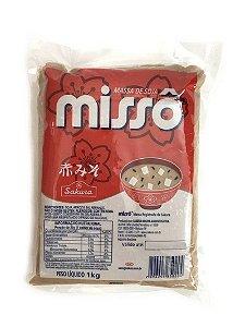 Massa de Soja Missô Aka 1kg Sakura