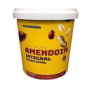 Pasta de Amendoim Integral 1,02kg Mandubim