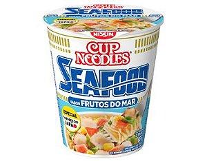 Macarrão Instantâneo em Copo Sabor Frutos do Mar Cup Noodles