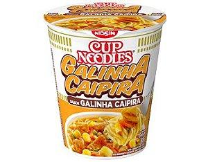 Macarrão Instantâneo em Copo Sabor Galinha Caipira Cup Noodles