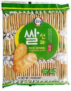 Biscoito de Arroz Salgado Sembei Surasang