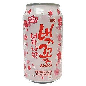 Bebida Gaseificada de Cereja 350ml