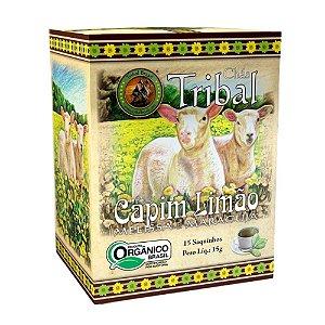 Chá Capim Limão, Melissa e Maracujá - 15 sachês - Tribal Brasil