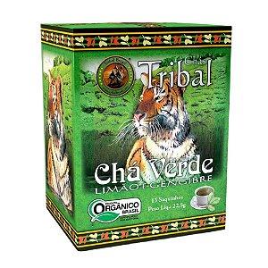Chá Verde, Limão e Gengibre - 15 sachês - Tribal Brasil