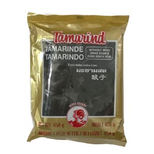 Pasta de Tamarindo Puro Sem Semente 454g Cock Brand
