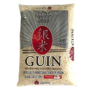 Arroz Japonês Grão Curto 1kg Guin