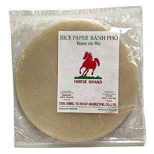 Papel de Arroz Redondo Rice Paper Bánh Phó Horse Brand