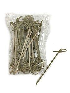 Espeto de Bambu com Nó - Stick / Skewer Bamboo 9cm 50 unidades