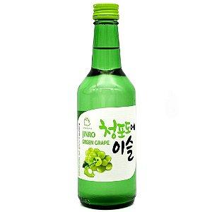 Bebida Coreana Soju Jinro Uva Verde/Green Grape 360ml Hitejinro