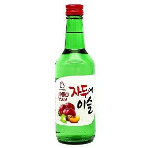 Bebida Coreana Soju Jinro Ameixa/Plum 360ml Hitejinro