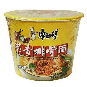 Macarrão Instantâneo em Copo Sabor Carne de Porco Guanzhou