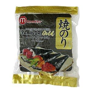 Alga para Sushi - 50 Folhas - Nori Manmaru Gold