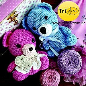 kit Ursinho Pink e Blue