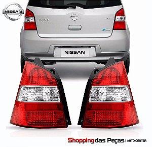 Lanterna Traseira Nissan Livinea 4604723 Original Cada
