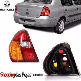 Lanterna Tras Renault Clio Sedan 2001 A 2004 Tricolor Ld
